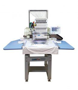camfive is a newer American based company that produces commercial and industrial embroidering machinery
