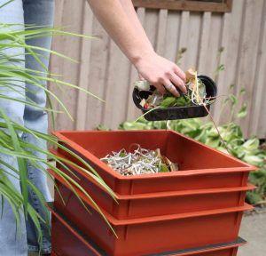worm bin alternative to Garbage Disposal units